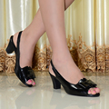2016 women sandals,genuine leather shoes,women peep toe high heels sandals for women office shoes,big size dress shoes 818-13