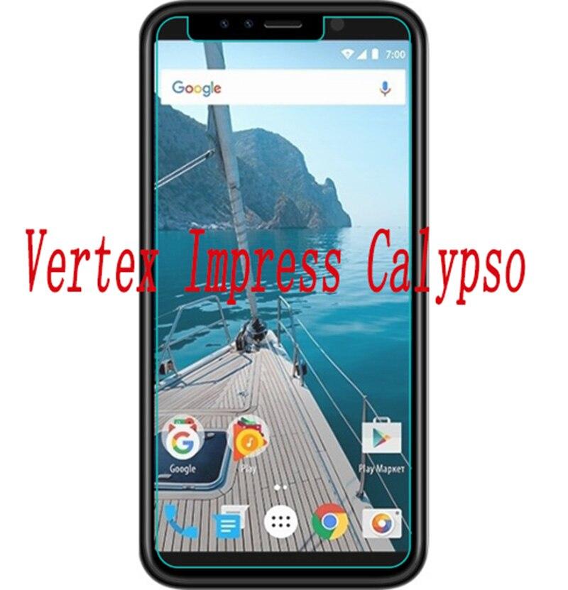 Купить Закаленное стекло для смартфона Vertex Impress Calypso 9 H Взрывозащищенная защитная пленка защитная крышка для телефона на Алиэкспресс