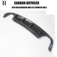 Carbon Fiber Rear Bumper Diffuser for Golf 6 MK6 GT I Bumper Only 2012 2014 ( Only Fit GT I Bumper, not Fit Standard & R )