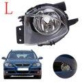 Lado izquierdo Parachoques Antiniebla Luz de Conducción Faros de Niebla Lente Transparente 63176948373 Para BMW E90 E91 2006 2007 2008 Car Styling # W080-L