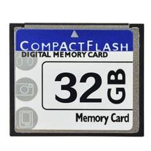 Реальная емкость! Профессиональная CF карта 32 ГБ, 32 ГБ, Compact Flash карта памяти CF для камеры