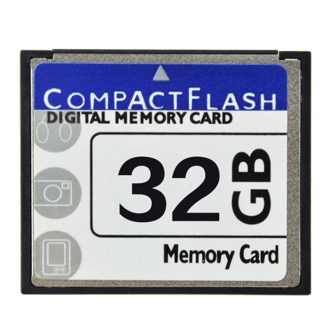 Capacité réelle!!! Carte mémoire professionnelle 32 go CF carte 32G Compactflash carte mémoire CF pour appareil photo