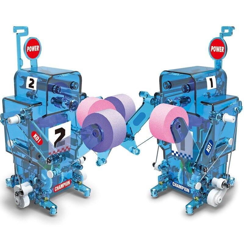 Boxe Robot tige jouets expérience physique jouet Science éducation jouet, physique créative expérience apprentissage jouets pour enfants