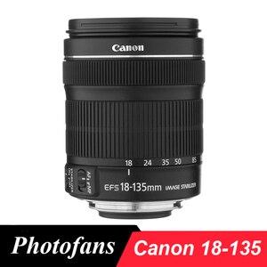 Image 1 - Canon 18 135 STM เลนส์ Canon EF S 18 135 มม.F/3.5 5.6 IS STM เลนส์สำหรับ 700D 750D 800D 7D 70D 60D Rebel T3i T4i T5i