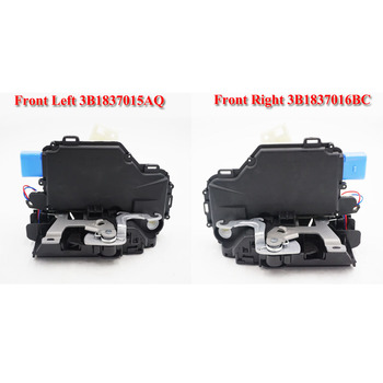 pair FRONT L + R  Lock Actuator 3B1837015AQ 3B1837015BC  3B1837016BC 3B1837016CC 5J1837016 FOR VW T5 POLO SKODA FABIA ROOMSTER