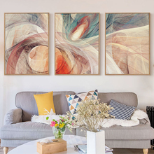 Bianche Wall Stone Geometric Abstract Pattern Decoration Canvas Painting Art Print Poster Picture Home
