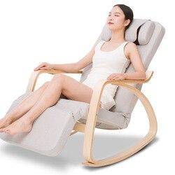 Ocio masaje mecedora hogar automático amasar masaje Cervical Vertebra cintura trasera eléctrico sofá silla de masaje