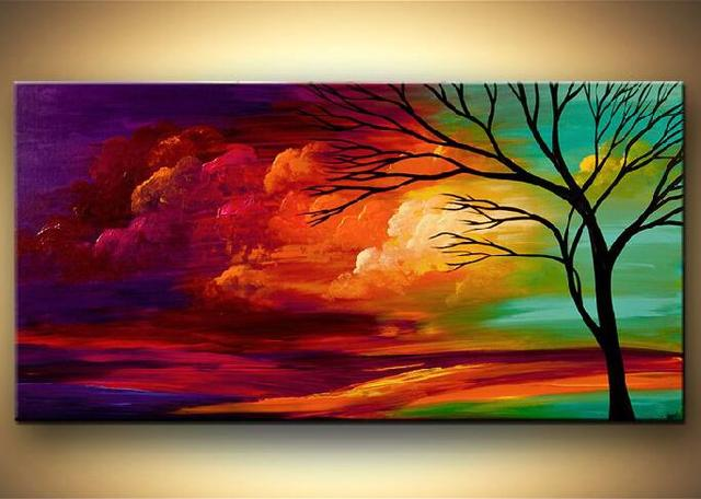 Modern Art 100 Hand Painted On Canvas Nice Painting For Home Room Decoration T