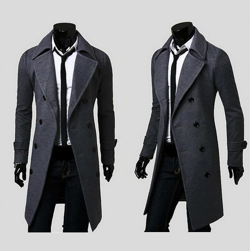 Popular Mens Winter Coats Wool-Buy Cheap Mens Winter Coats Wool ...