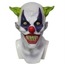 High Quality Carnival Circus Creepy Giggles Halloween Clown Head Mask