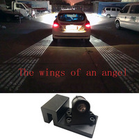 2Pcs Angle Wing Ghost Shadow Light WelcomeLamp Car Or Motorcycles LED Door Warning Light For BMW