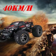 2.4G 40KM/H high speed RC car Remote Control Truck Model Off-Road Vehicle Dirt Bike Shock absorber Kids toy gift