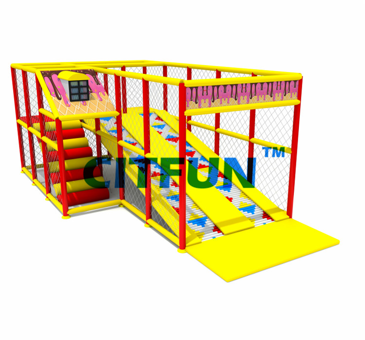Ihram Kids For Sale Dubai: CE Certified Children Indoor Play Slide CIT 18191A-in