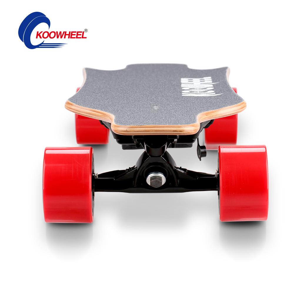 Prix pour Mise à jour 2017 koowheel 4 roue électrique planche à roulettes scooter electrico + samsung batterie + double hub moteur patinete électrique hoverboard