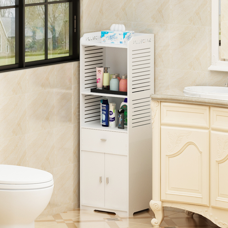 Bathroom Shelf Floor Toilet Toilet Vanity Toilet Bathroom Land Storage Storage Shelf LO517301