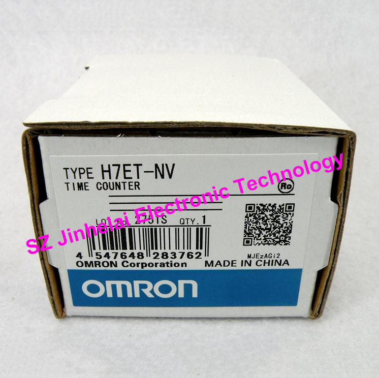 100%New and original H7ET-NV OMRON TIME RELAY TIME COUNTER DC4.5-30V [zob] supply of new original omron electronic counter h7ec nv voltage output 2pcs lot relay