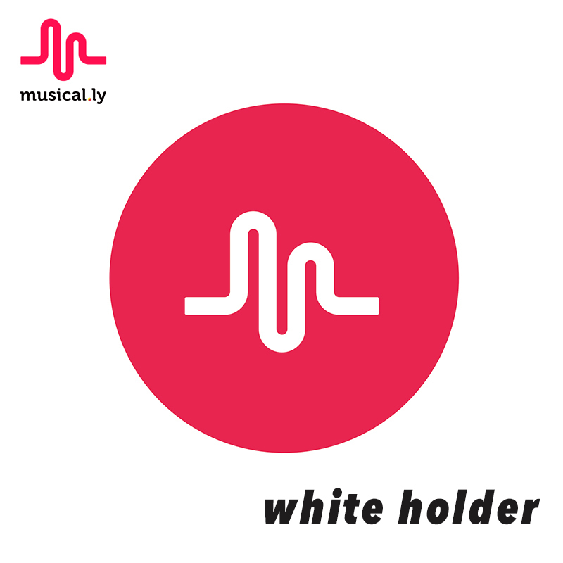 musical.ly Original White Pop Phone Holder Stand Send Gift Car Phone Holder Fans Use For Muser For IPhone Xiaomi Meizu P1