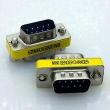 DB9 Мужчинами последовательный порт Адаптер последовательный порт кабель адаптера converter Бесплатная доставка