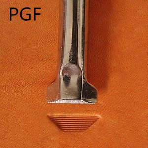 Modello di vena 2 PGF51-02 strumento per intaglio in pelle fine in acciaio inossidabile