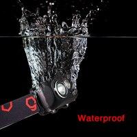 Battery Operated Motion Sensor Waterproof Outdoor Activities Headlight Hiking Night Fishing High Brightness Portable Led Mini