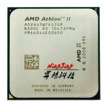 Processador amd athlon ii x4 645, cpu quad-core com 3.1 ghz, soquete am3