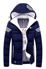 Brand Thickening Winter Coat Cotton-padded Jacket Men 2017 New Fashion Warm Parkas Elegant Business Plus Size 5xl