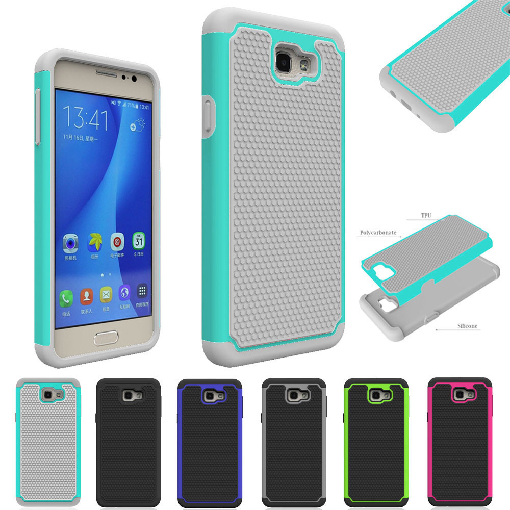 Heavy Duty Hybrid Armor Case Hard Rubber Shockproof Phone Cover For Samsung Galaxy A3 A5 J1 J3 J5 On5 2016 S5 Core Grand Prime @