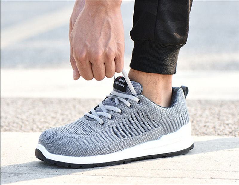 New-exhibition-Flying-mesh-Breathable-Steel-Toe-Cap-Safety-Shoes-Men-anti-pierce-Injection-bottom-work-Safety-boots-2019-Sneaker (18)