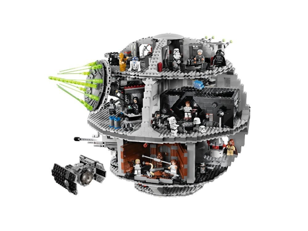 Lepin 05035 Star Set Wars Death Star 3804pcs Building Block Bricks Toys Kits Compatible legoed with 10188 Children Educational lepin 16002 modular pirate ship metal beard s sea cow building block set bricks kits set toys compatible 70810