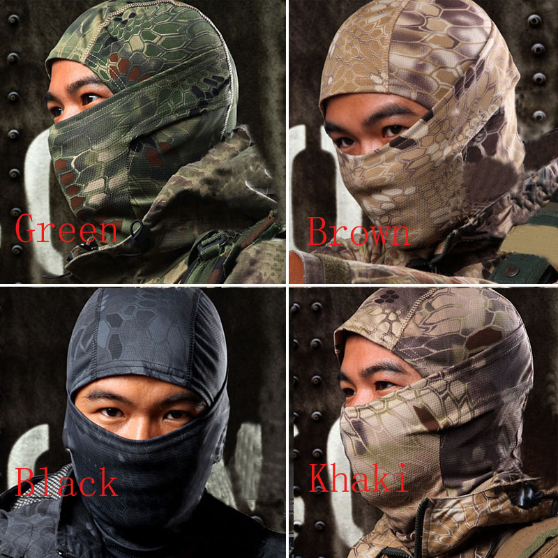 US Full Face Mask Cap Motorcycle Army Winter Ski Cycling