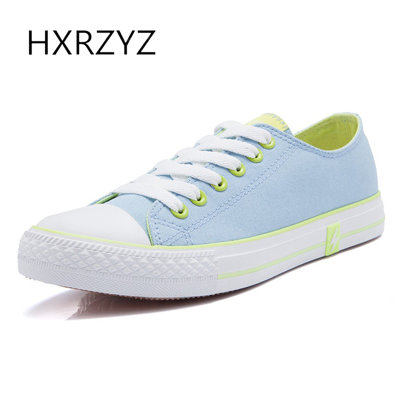 HXRZYZ women flat shoes breathable canvas sneakers spring/autumn fashion ladies classic lace-up casual shoes women leisure shoes free shipping candy color women garden shoes breathable women beach shoes hsa21