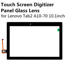 New Black Touch Screen Digitizer Panel Glass Lens Sensor for Lenovo Tab 2 Tab2 A10-70 10.1inch Replacement Parts Repair Part