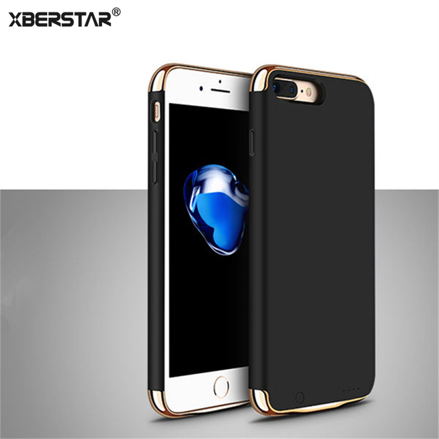 Ultra Thin External Backup Battery Case 3 in 1 Power Bank Cover For iPhone 6 6S