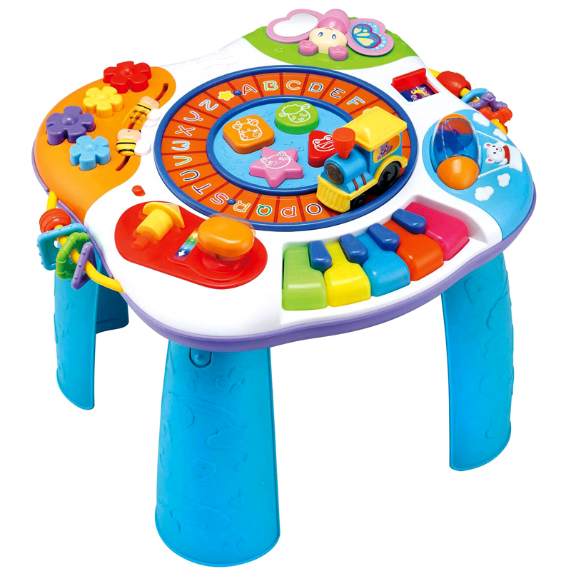 Winfun Multifunctional Early Education Toys Learning Baby Activity Table  Baby Game Desk Learning Table Piano Toy For Children In Learning Machines  From Toys ...