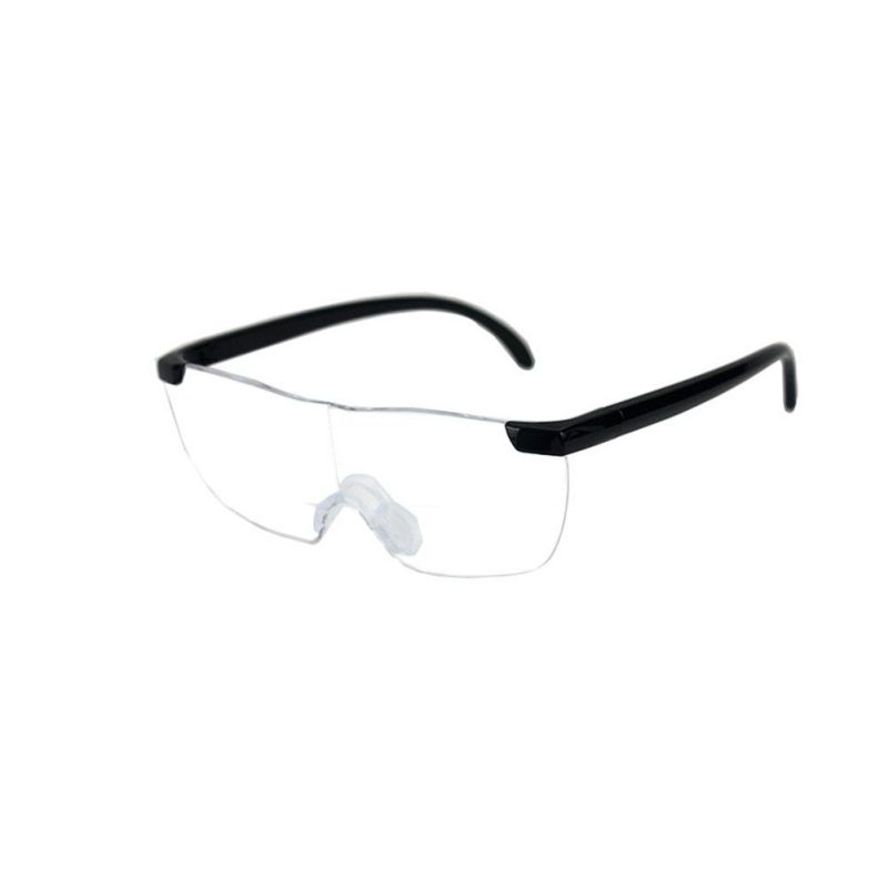 Explosion Frameless Magnifying Presbyopic Glasses Eyewear Reading 160% Magnification To See More And Better Portable Magnifier ultra thin portable folding presbyopic glasses