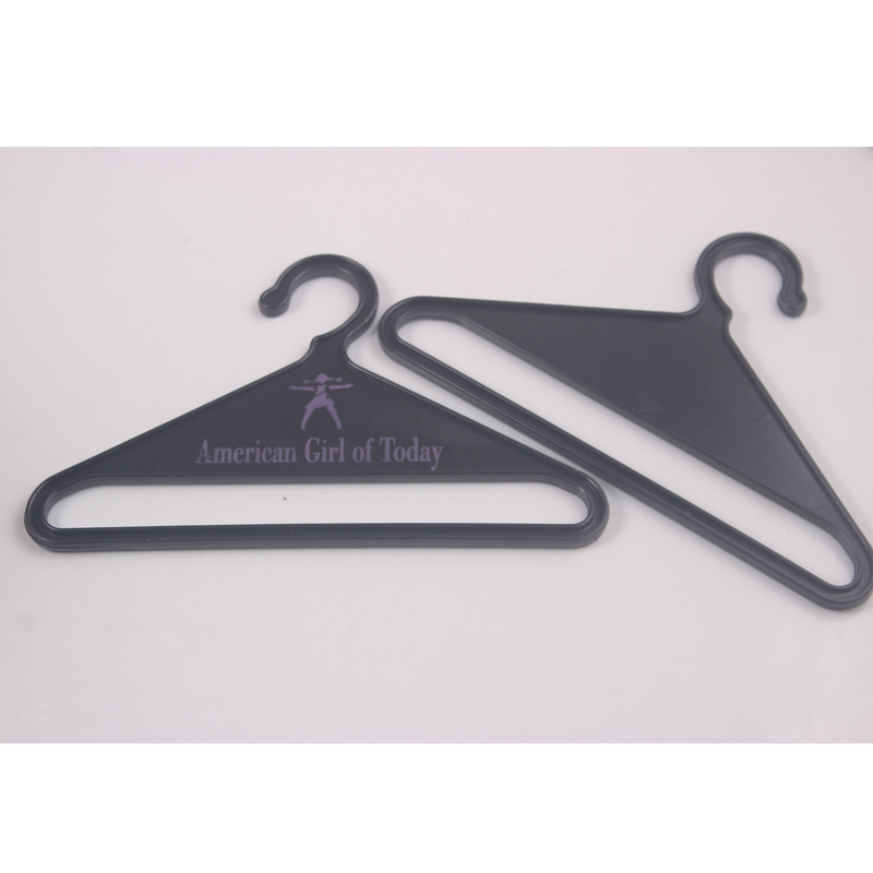 Black Doll Hangers For 18 Inch American Girl Doll Doll Accessories Gift Doll Clothes Hangers