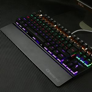 Mechanical-Keyboard Hand-Care Backlit-Gaming Anti-Ghosting-Free K28 26-Keys USB Wired