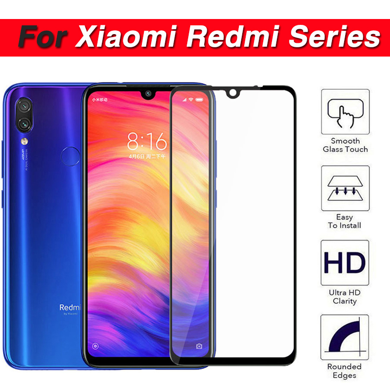 Protective glass on for xiaomi redmi note 7 6 5 pro 5a tempered glas ksiomi red mi note7 note6pro 6pro note5 xiomi xiaomei film