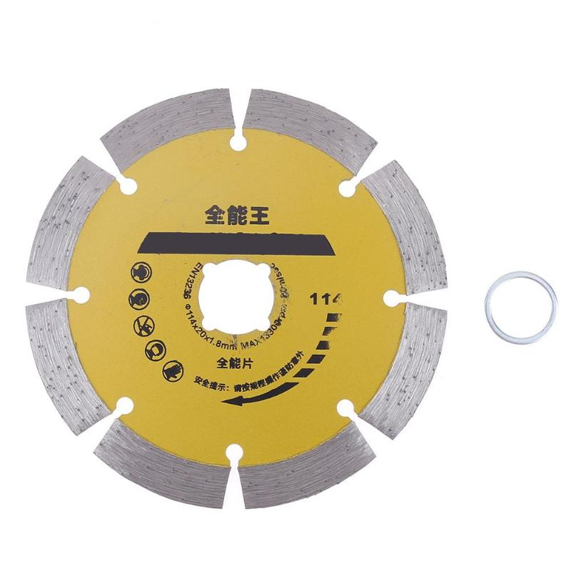 115mm Diamond Cutting Disc Round Saw Blade Sharpener Ceramic Angle Grinder