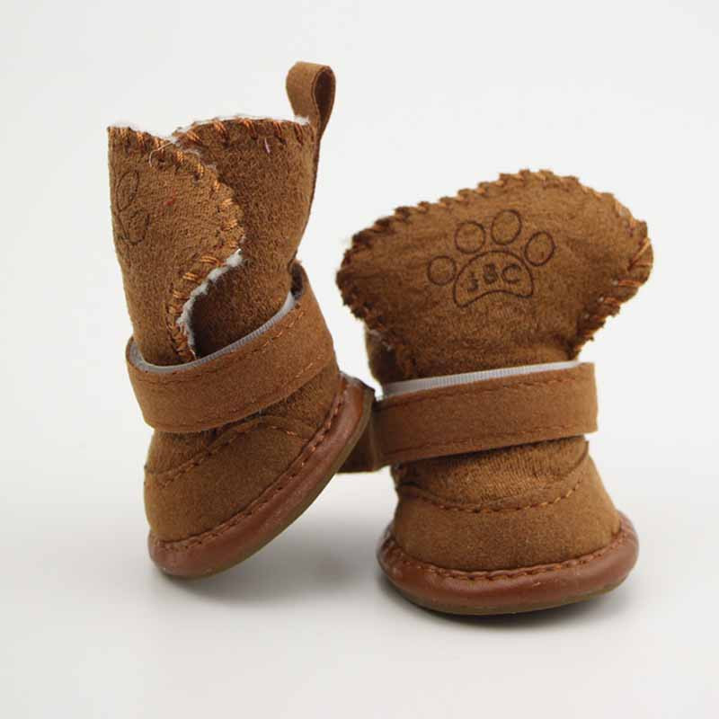 SYDZSW Pet Shoes for Dogs Cats Winter Small Dog Puppy Anti-slip Boots Yorkshire Snow Boots Chihuahua Supplies Out Door Pet Porducts5