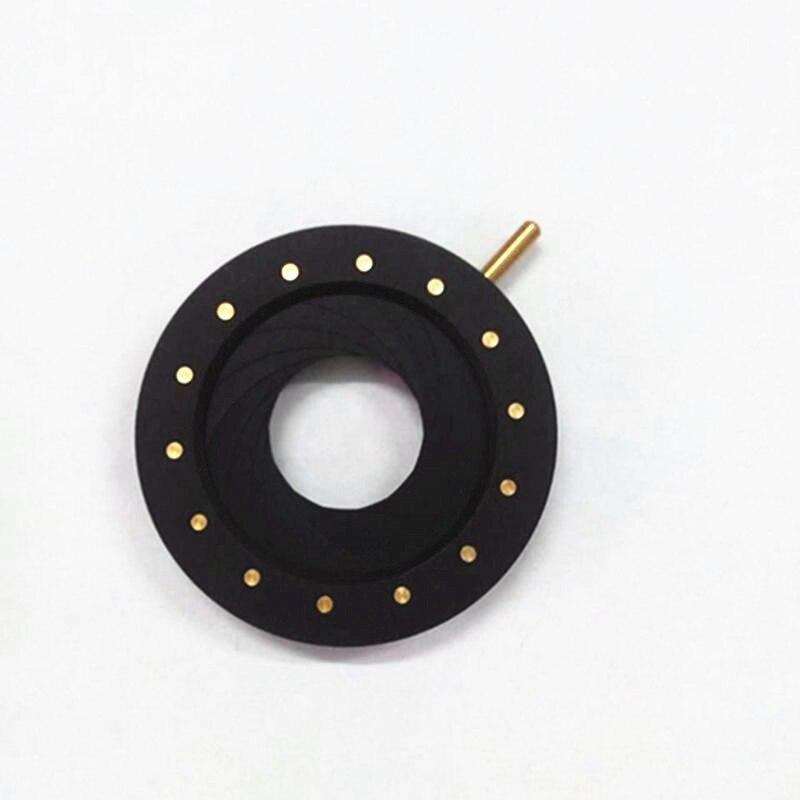 Diaphragme optique réglable manuel d'iris 1.5mm-25mm pour le Laser de caméra de Microscope biologique avec 14 lames
