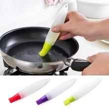 TENSKE силиконовая щетка для выпечки торта, масла, хлеба, кондитерских изделий, жидкое масло, ручка, трубка, щетка, инструмент для барбекю, новинка, Прямая поставка ap914
