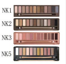 Free shipping Pro NK 12 color Eyeshadow Makeup Sets Women Beauty&Health Cosmetic Original Package