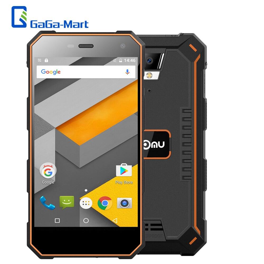 bilder für 5000 mAh Nomu S10 5,0 zoll Android 6.0 IP68 Wasserdichte Smartphone 720*1280 MTK6737T Quad Core 2 GB + 16 GB ROM 13MP 4G Handy