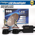 1xPair Car Styling 12000LM 96w H4 Led Headlight Hi/Lo Car Led Headlight Auto LED Bulbs 9004 9007 Led Headlight Lamp Replace HID
