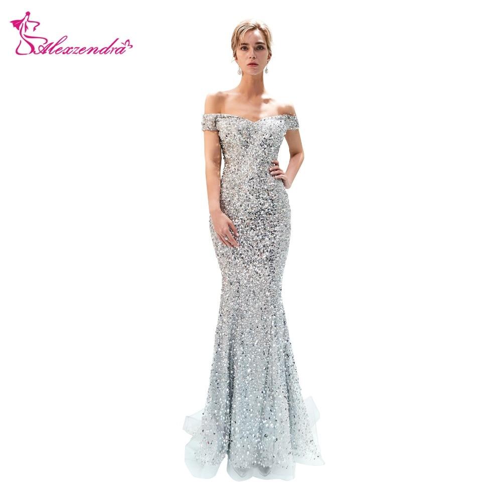 8d40133784 Compra silver gown y disfruta del envío gratuito en AliExpress.com