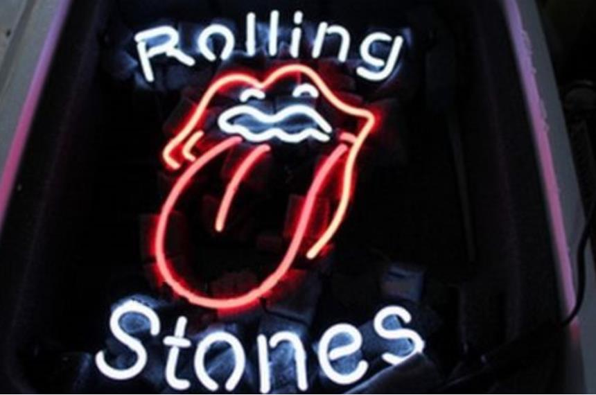 NEON SIGN For The Famous Rolling Stones Rock Band GLASS Tube BEER BAR PUB Club Business Custom Shop Light Signs 16*12""