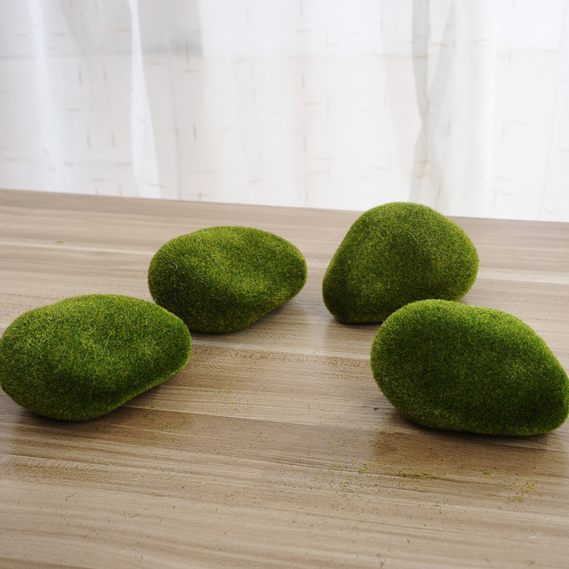 New Foam green Moss ball 5Pcs Marimo Aquarium Plant Cladophora Underwater Fish Tank Ornament,hot sale