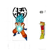 Dragon Ball Super Z Sticker Vape Cover Stickers For JUUL 2.5D Stereo Film Skin 3M Adhesive Printing Label for JUUL Skin Sticker(China)