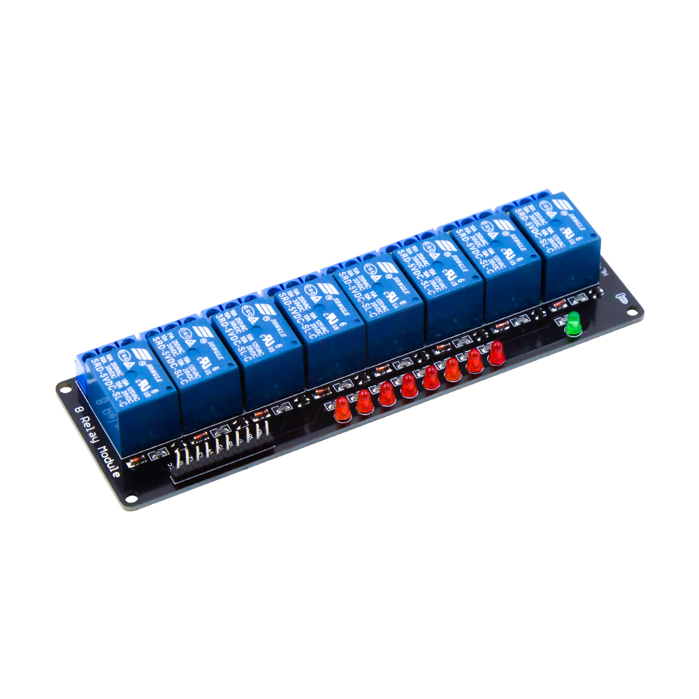 8 Road/Channel Relay Module Without Light Coupling for Arduino8 Road/Channel Relay Module Without Light Coupling for Arduino
